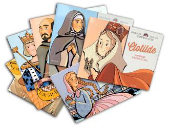 violaine costa illustration couverture du livre pour enfant pour la collection les lumières de l'histoire aux éditions mame