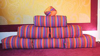 Sitzkissen, Spielkissen, Bauelemente für Kinder