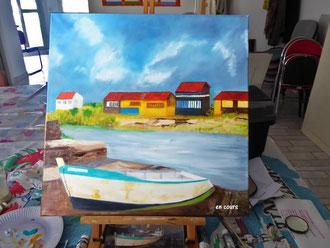 Peinture artistique 30-3-2017