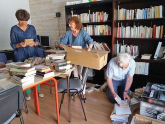 Bibliothèque le 12-6-17