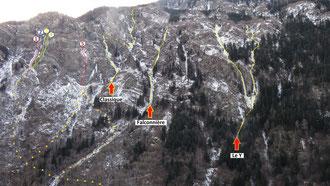 Guide de haute montagne maurienne aussois cascade de glace alpinisme topo orelle Matthieu BRIGNON