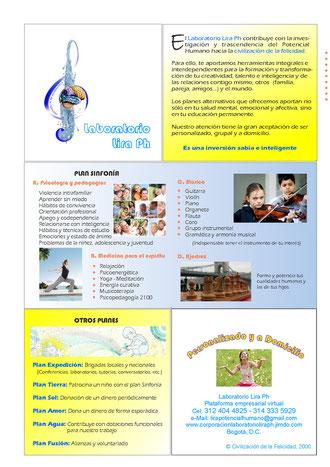 Psicología y pedagogía, Música y ajdrez, medicinas para el espíritu