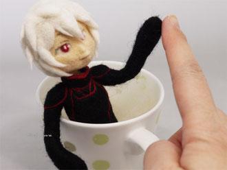 羊毛フェルト 空閑遊真 ワールドトリガー 人形