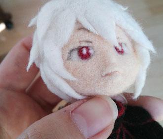 羊毛フェルト 人形 作り方 コツ 顔