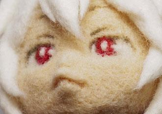 羊毛フェルト 作り方 コツ 顔 人形
