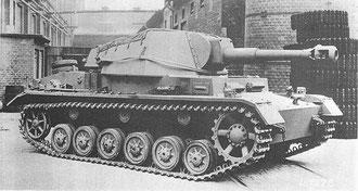 Rare photo du prototype armé du canon de 105 mm