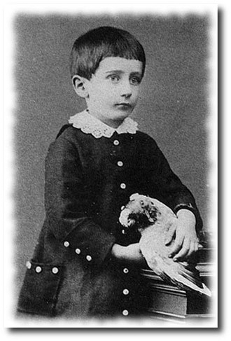 Guglielmo Marconi intorno al 1880