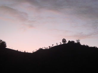 南インド クヌールの夜明け