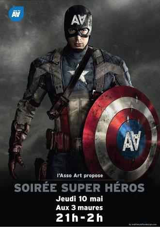 soirée super héros