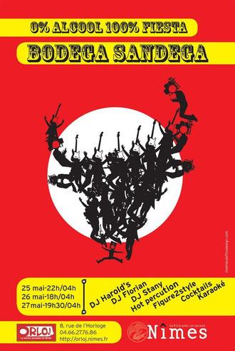 création pour la ville de Nîmes et  l'espace Jeune, Prix national aux Echarpes d'Or 2013