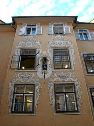 schöne Fassaden in der Altstadt