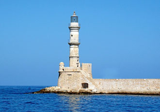 Leuchtturm in Chania