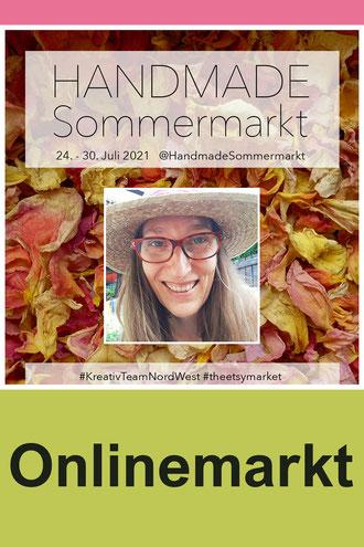 Handmade Soomermarkt vom KreativTeam Nord-West, mit Kathrin Arnold