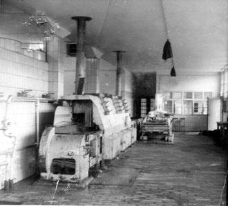 Die Kannenreinigung Ende 1940