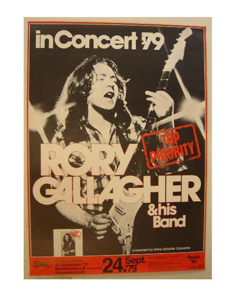 Rory Gallagher Grugahalle in Essen 1976