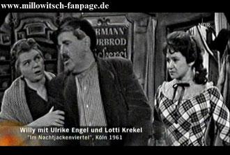 Willy Millowitsch Lotti Krekel Nachtjackenviertel