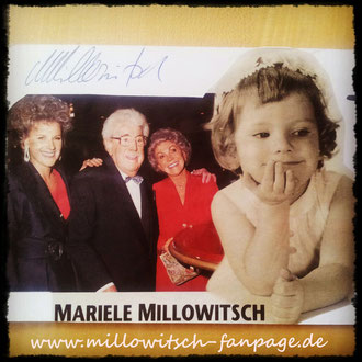 Mariele Millowitsch Gerda Willy Millowitsch