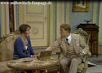 Erika soll den Grafen Alphonse (Hannes Fischer) heiraten