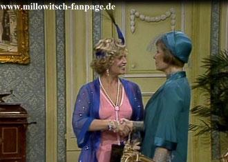 Auch Ossy erscheint wieder auf der Bildfläche, die nun durch Heirat eine Gräfin ist