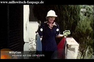 Heidi im gemeinsamen Urlaub auf Elba