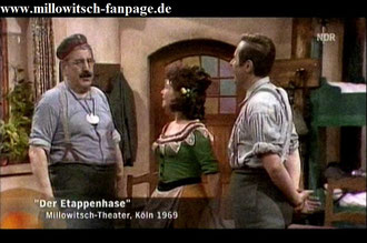 Der Etappenhase im Millowitsch-Theater