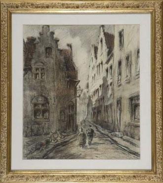 Rue de village.