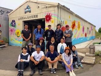2016年6月14日 壁画完成!そして記念撮影!