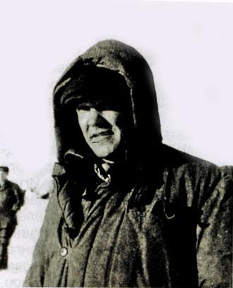 Полярный летчик В.М. Петров.