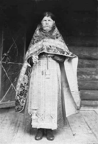 Священник старообрядческой церкви. Якутия