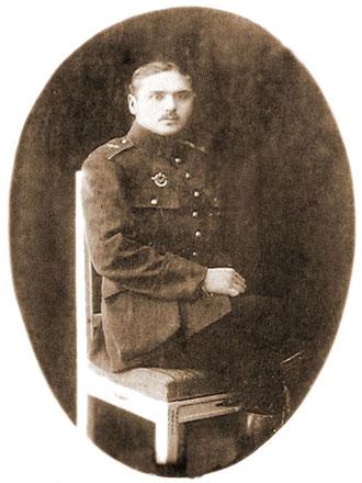 В.Л. Галышев на службе в армии России