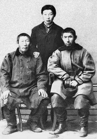Представители якутского купечества 19 в.