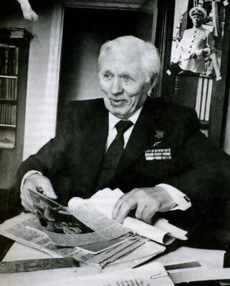 П.Н. Иванов на пенсии