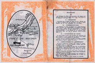 Brochure publicitaire Le Clos © Archive famille TISON