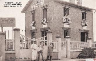 La maison d'Émile POMMIER, rue Lavoisier, vers 1927.