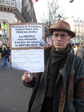 3 Millions de personnes dans les rues de France le 19 Mars 2009