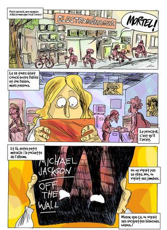 """Vox : Page 2 couleur de """"L'homme aux socquettes blanches"""""""