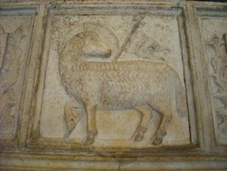 Sarcófago.Agnus Dei.Florencia