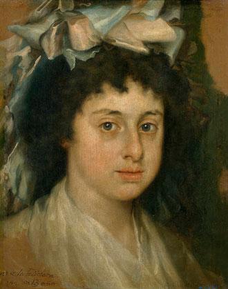Francisco Bayeu y Subías,Feliciana Bayeu, hija del pintor.1787.38x30cm.