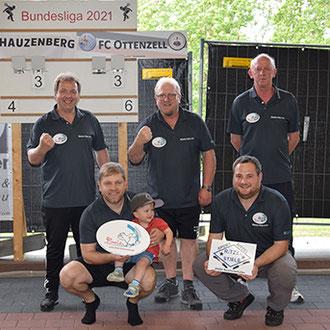FC Ottenzell Damen Aufstieg Sommer 2017