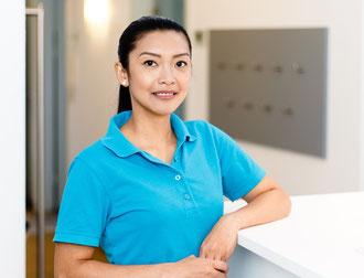 Zahnarzt Assistentin Janette Fernandez