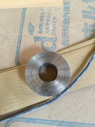 鉛ボード施工-4(鉛テープ)