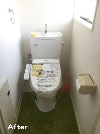 トイレ工事(施工後)