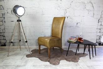 Klassischer Hochlehner Sara aus Echtleder in vielen Farben erhältlich, er ist ein absoluter Hingucker und sorgt für besten Sitzkomfort