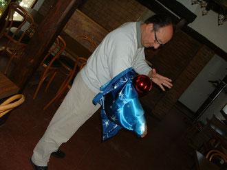 atelier magie sur la boule volante