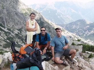 Marianne, Eric et Pascal: plusieurs Grâce à pour le soutien