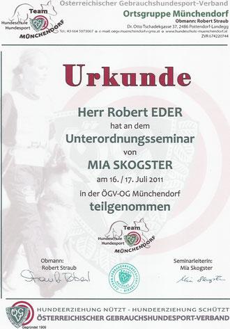 Trainerfortbildung 16.+17.07.2011