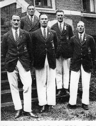 1928 Amsterdam: British team