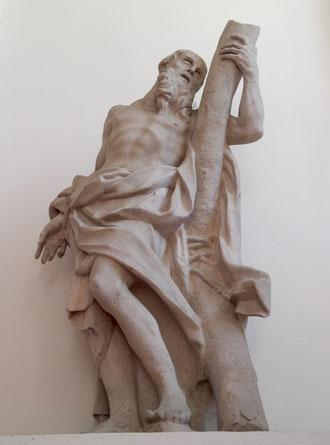 Hl. Andreas Statue von Michael Bernhard Mandl