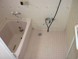 柏市 水まわり浴室リフォーム前