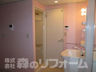 松戸市マンションリフォーム トイレリフォーム トイレドア交換 便器交換